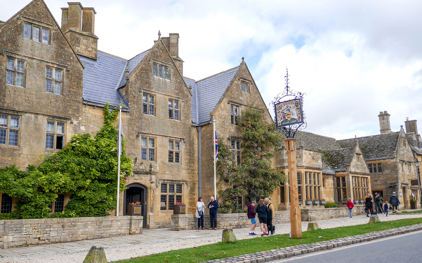 The The Lygon Arms hotel in Broadway, Cotswolds