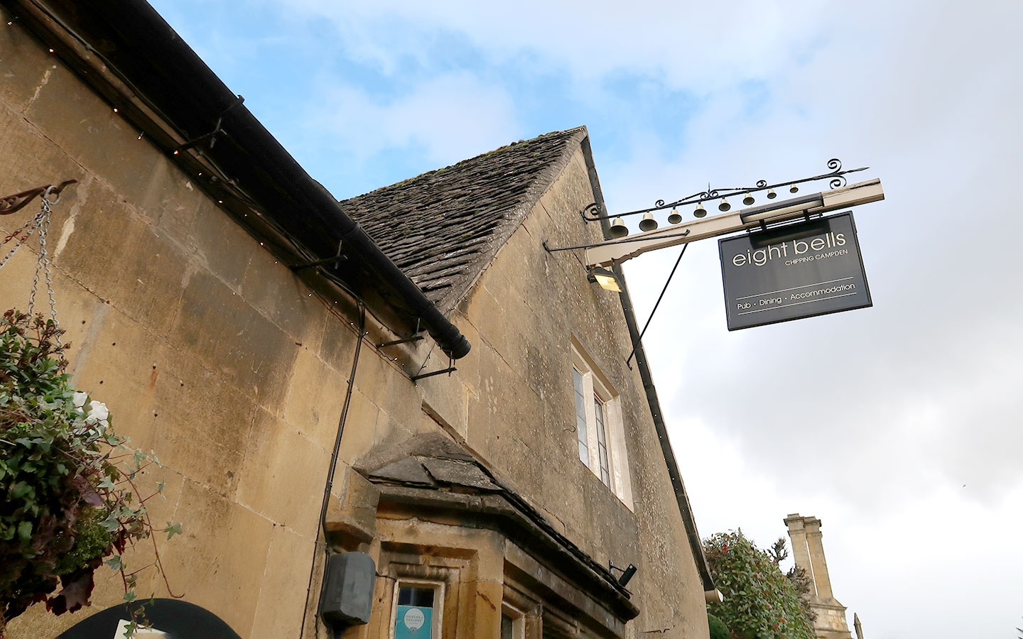 Eight Bells Chipping Campden [photo credit author]