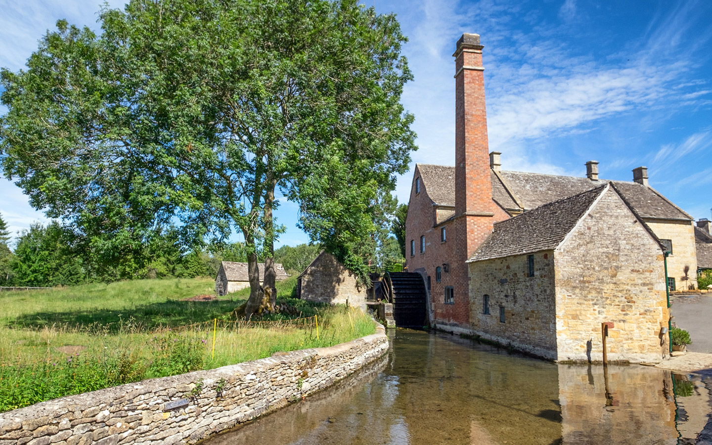 Mill at Lower Slaughter in the Cotswolds
