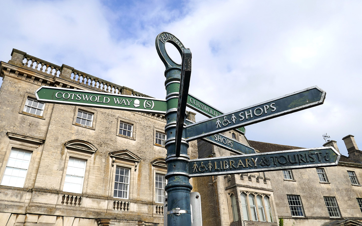 Signpost in Painswick