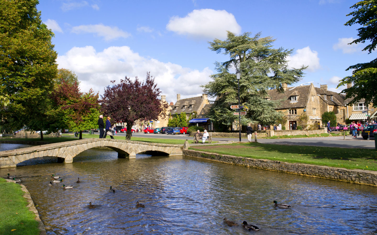 The River Windrush in Bourton-on-the-Water [photo credit Canva]