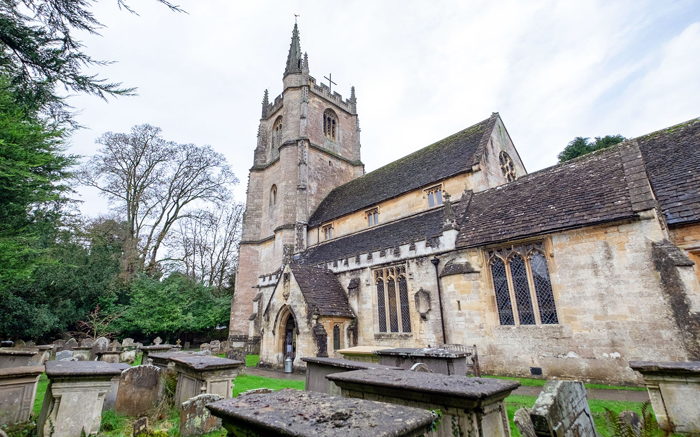 St Andrew's Church in Castle Combe