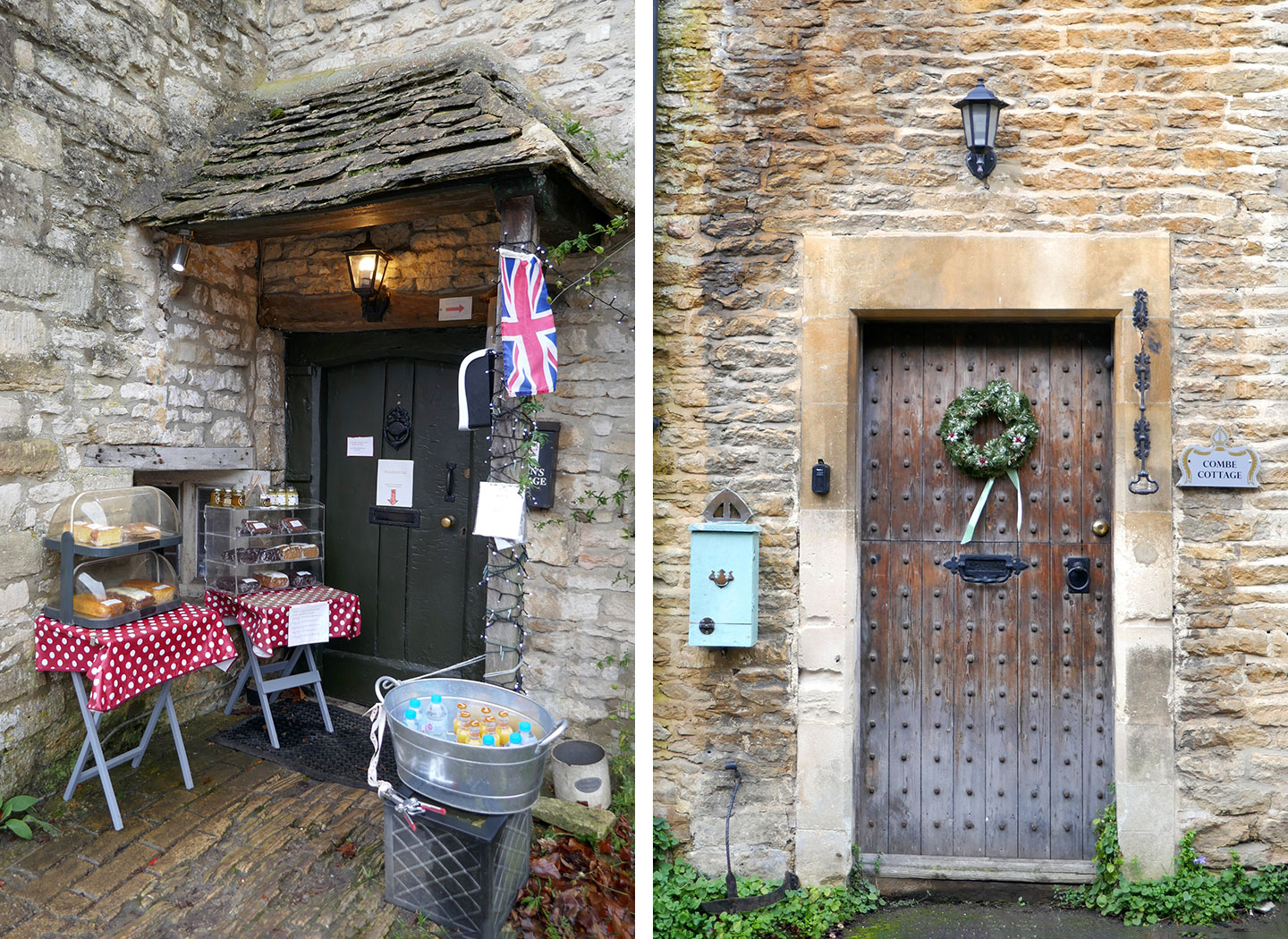 Honesty boxes in Castle Combe