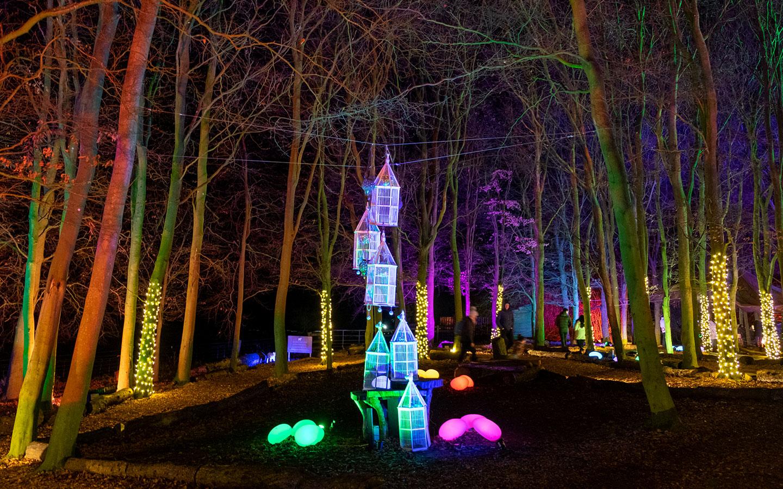 Cotswold Farm Park Enchanted Light Trail