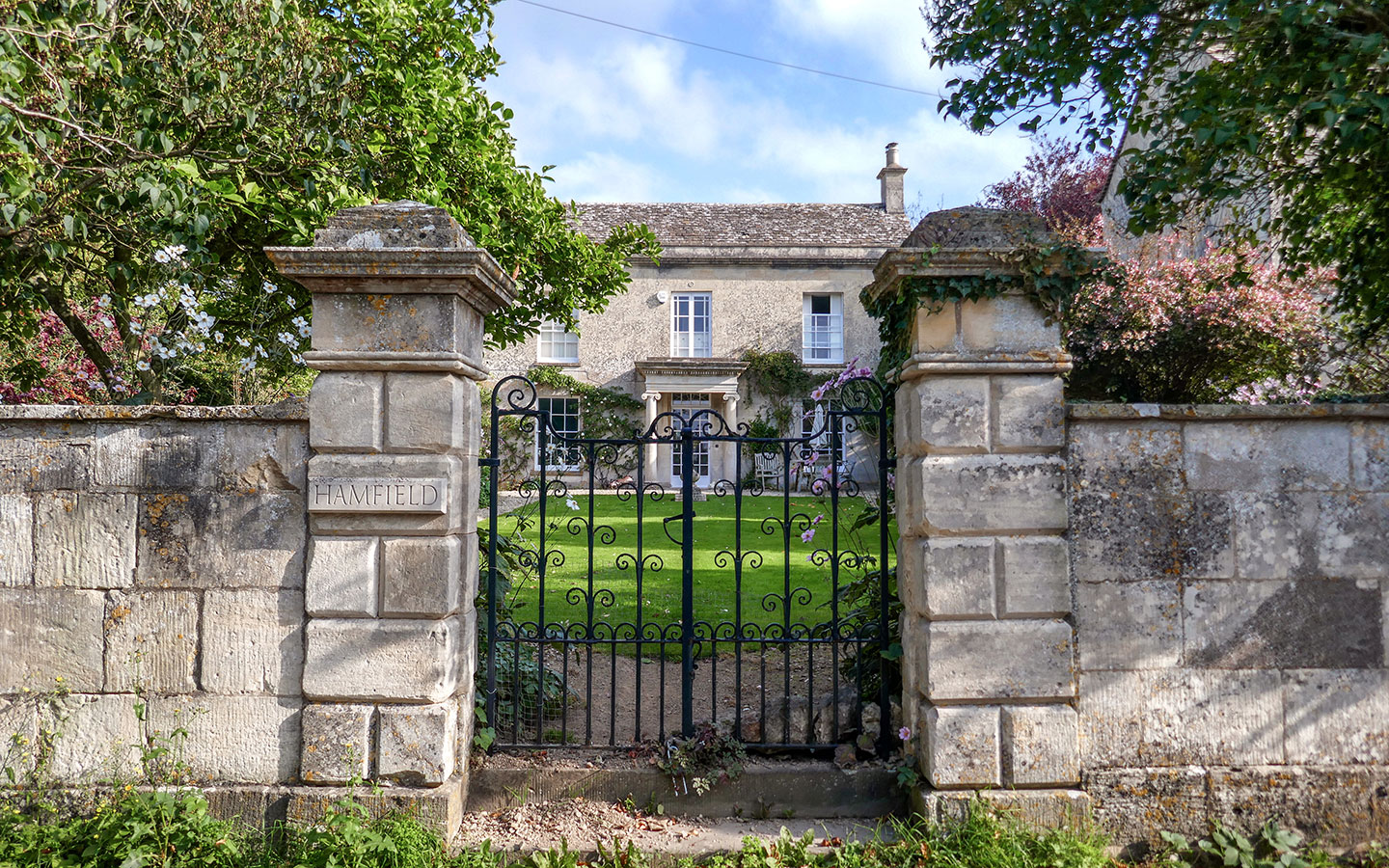 House in Painswick in the Cotswolds
