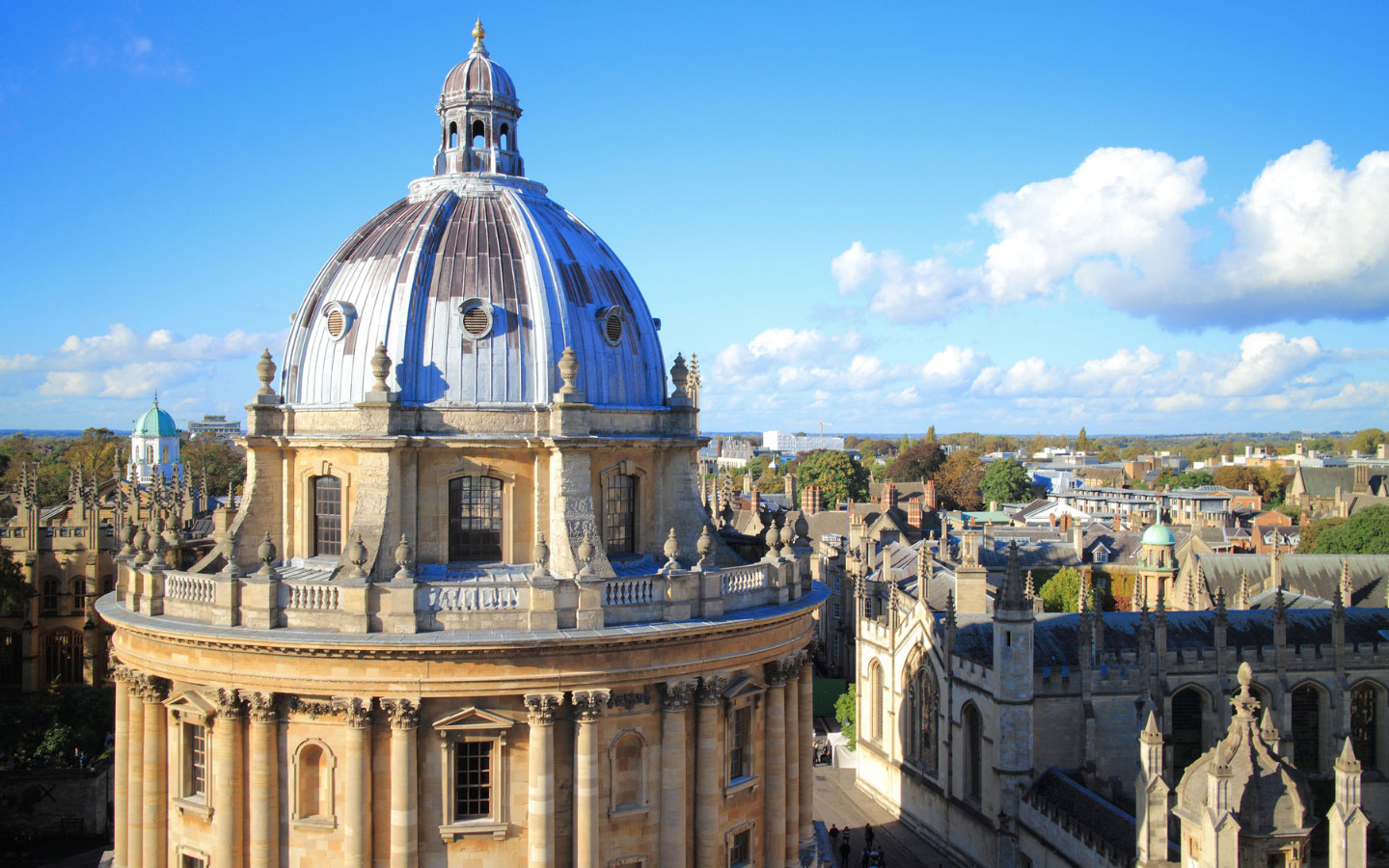 The Radcliffe Camera in Oxford [photo credit Canva]