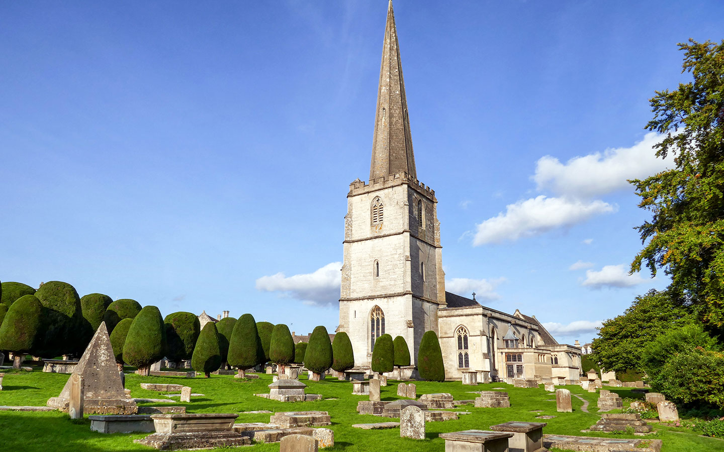 St Mary's Church in Painswick