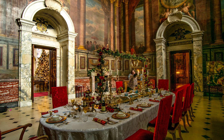 A Traditional Blenheim Christmas [photo credit Blenheim Palace]