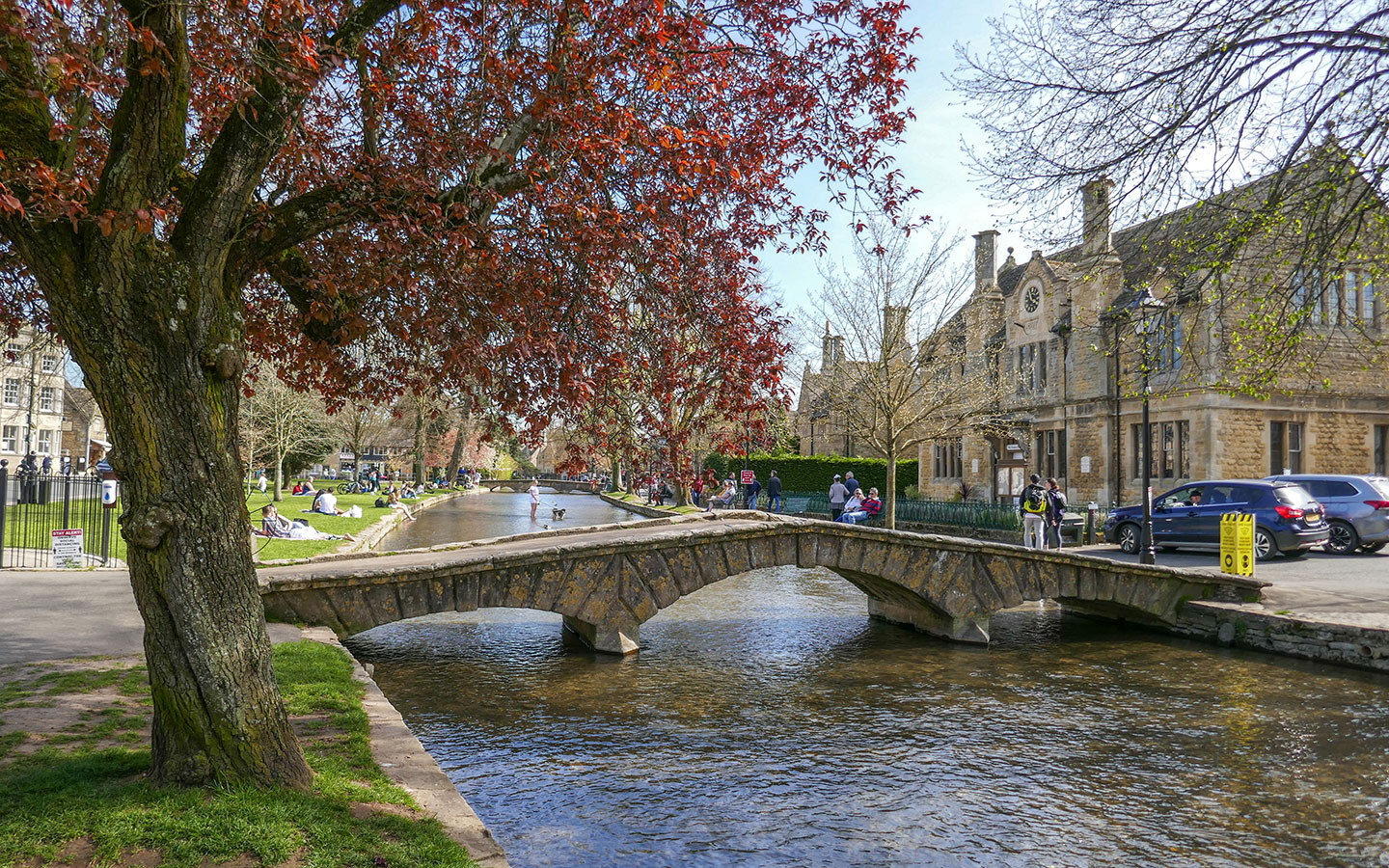 The River Windrush in Bourton-on-the-Water