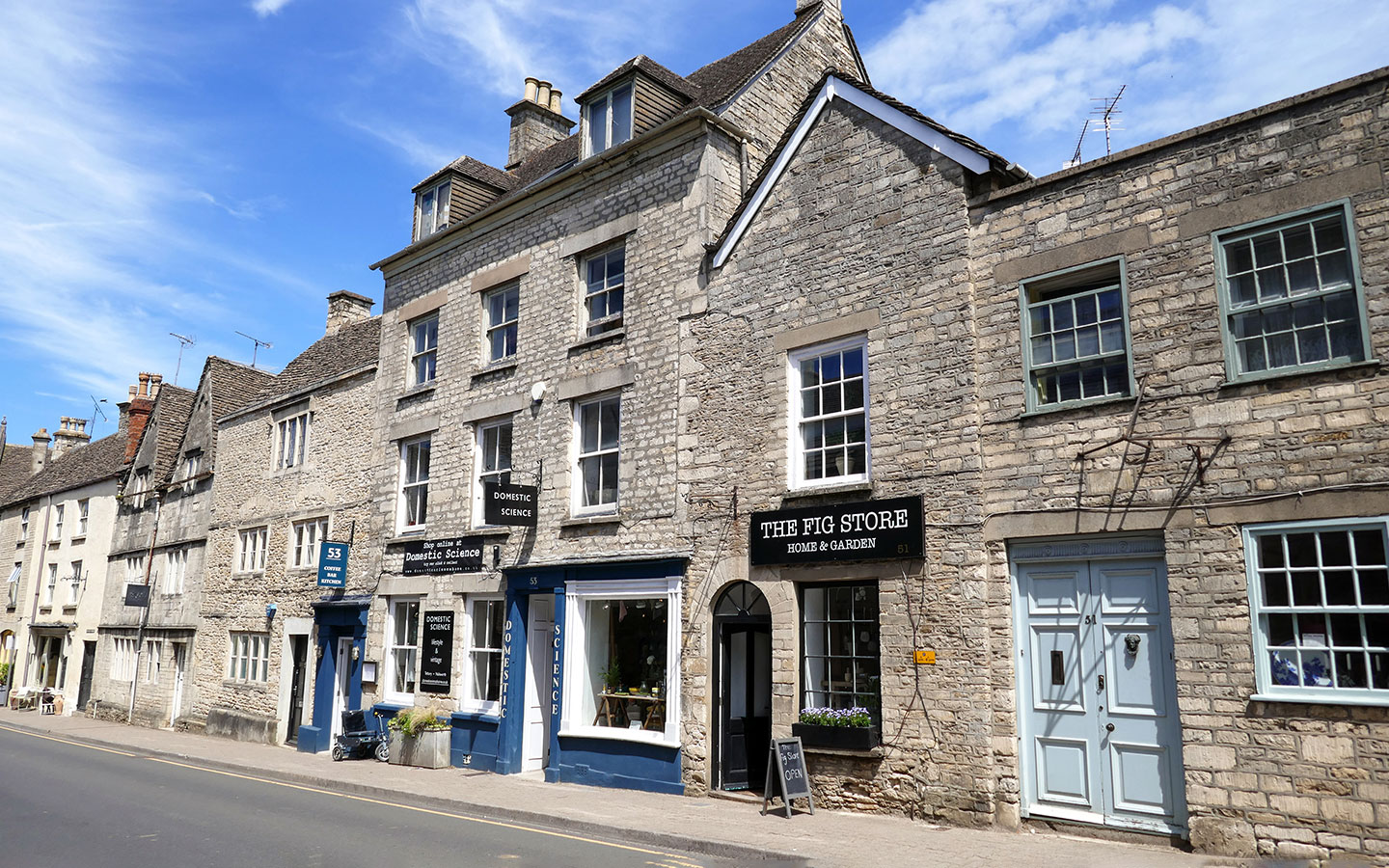 Domestic Science and Café 53 in Tetbury