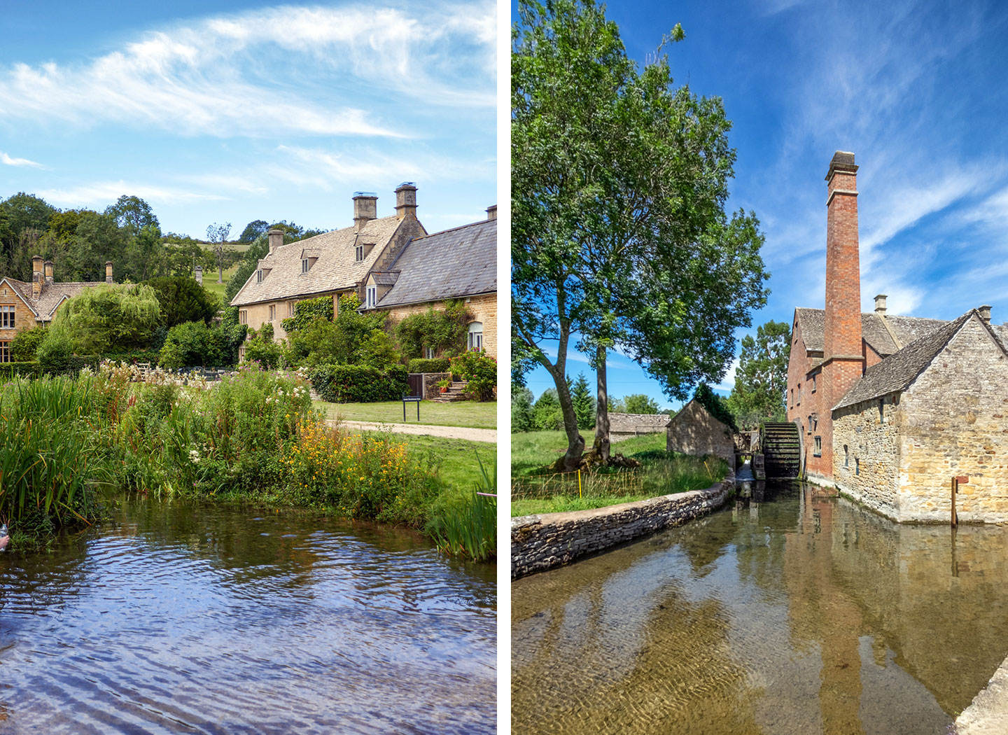 The Cotswold villages of Upper and Lower Slaughter