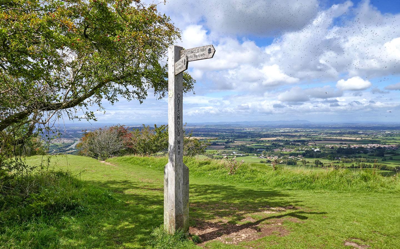 Crickley Hill Country Park just outside Cheltenham
