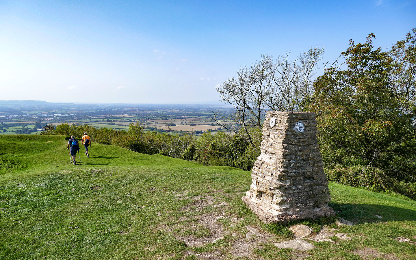 Views from Haresfield Beacon in the Cotswolds