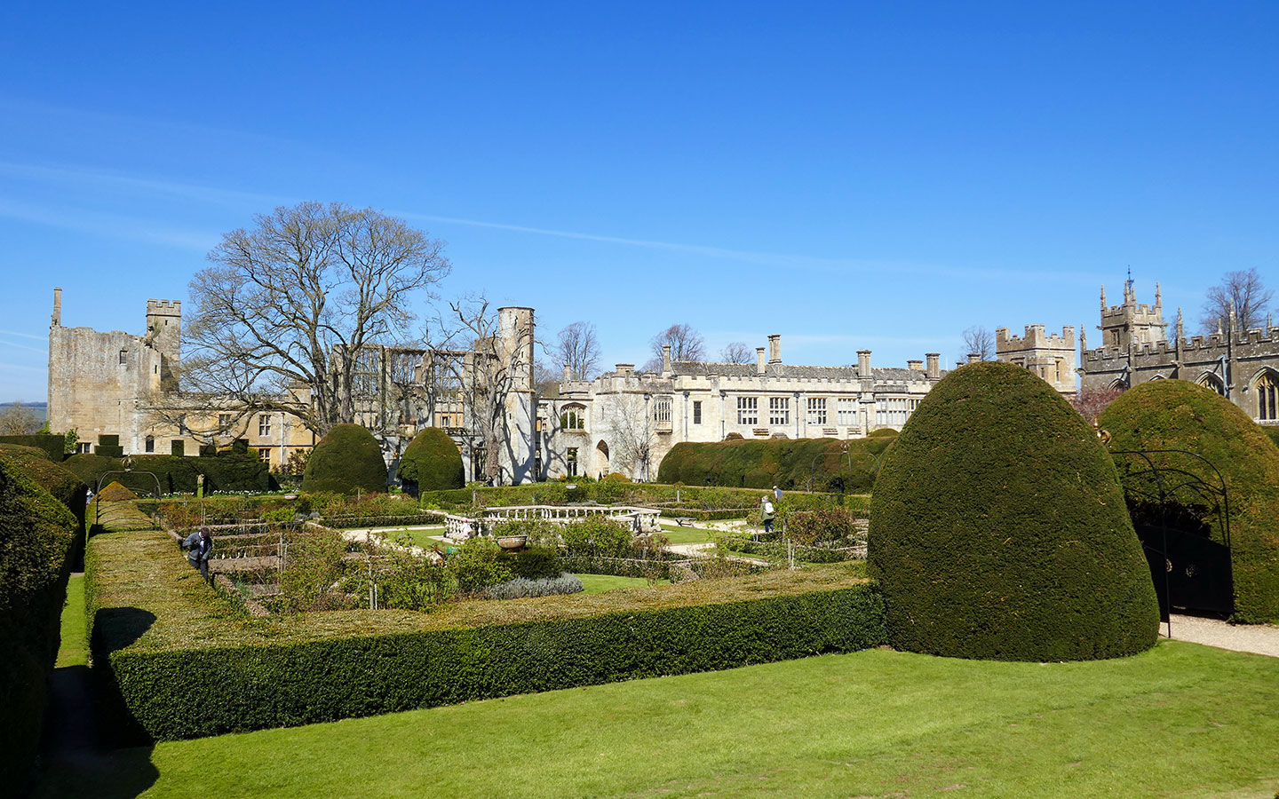 The grounds of Sudeley Castle