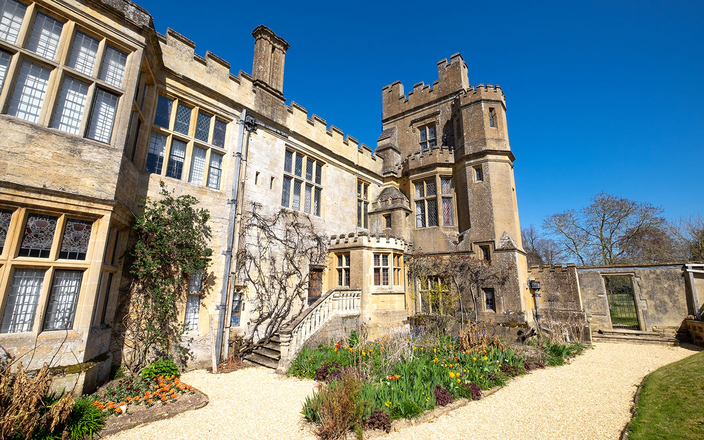 Sudeley Castle in Winchcombe in the Cotswolds