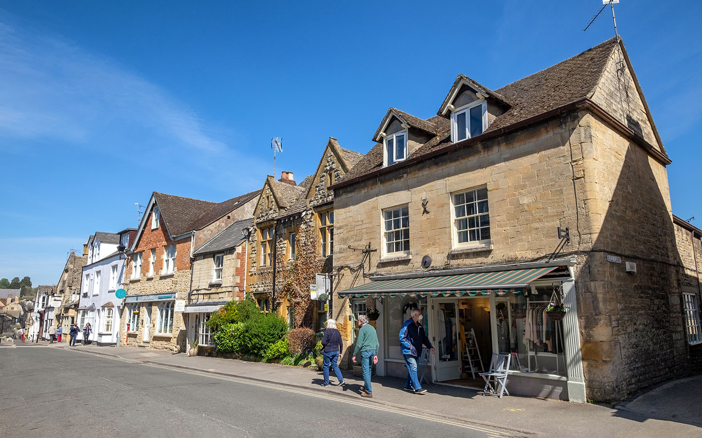 Shops on Hailes Street in Winchcombe