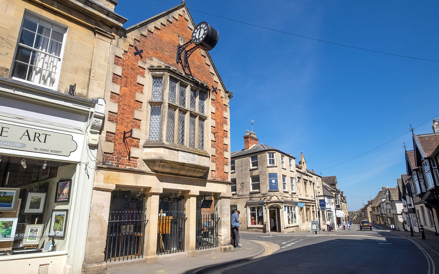 Winchcombe's Victorian Town Hall, now a museum