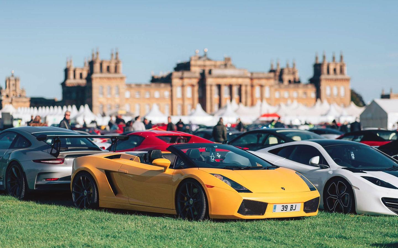 Salon Privé Classic & Supercar event at Blenheim Palace