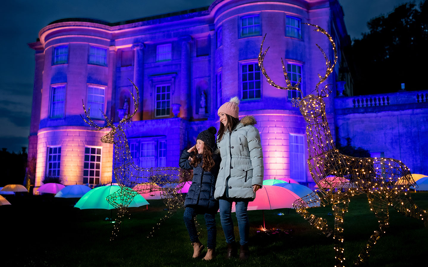 The Enchanted Garden of Light at Bath's American Museum [photo credit American Museum]