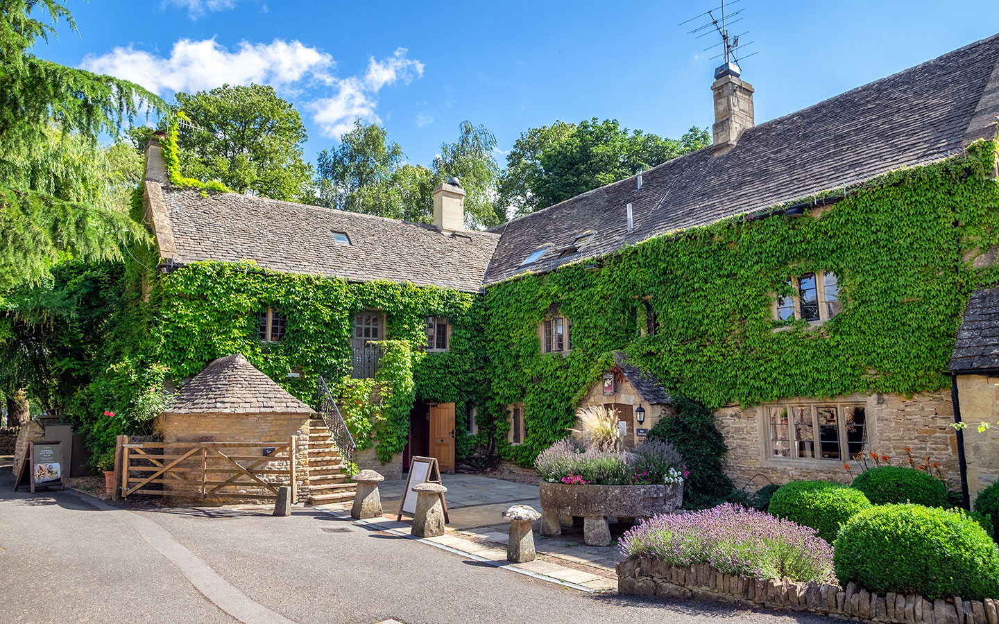 The Slaughters Country Inn in Lower Slaughter