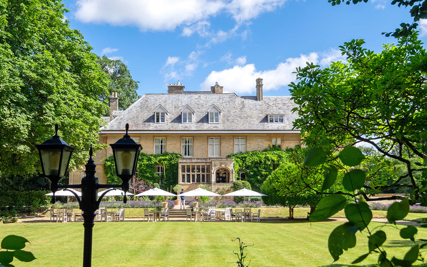 The Slaughters Manor House hotel and restaurant in the Cotswolds