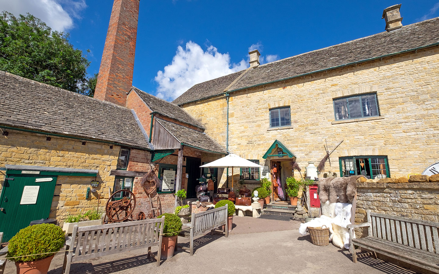 The Old Mill museum in Lower Slaughter