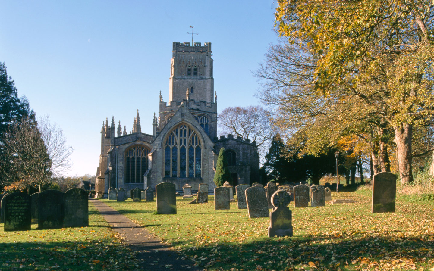 Northleach's Church of St Peter and St Paul – known as the 'Cathedral of the Cotswolds'