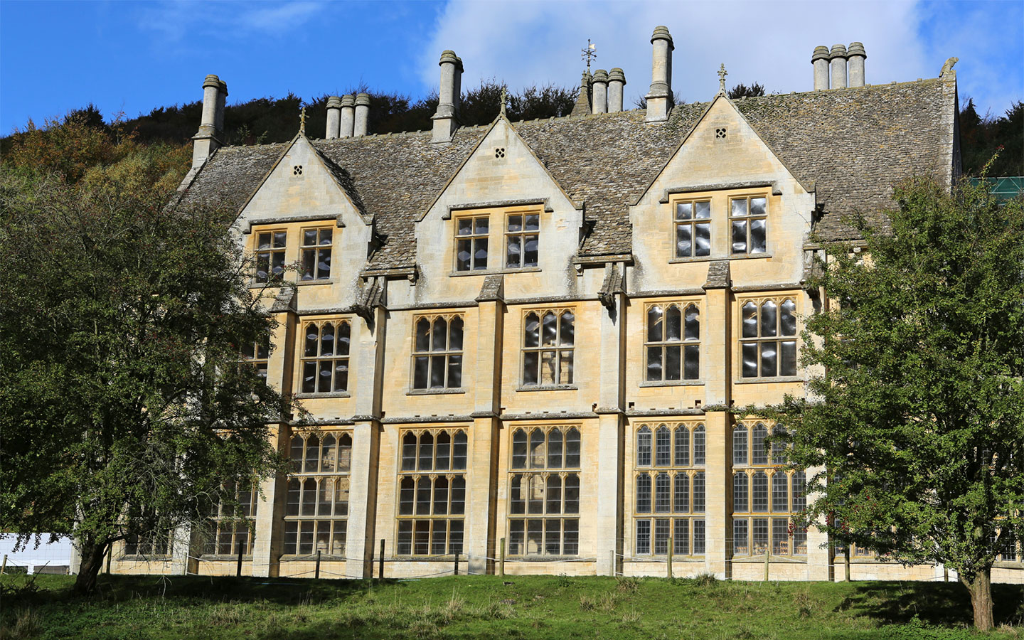 Woodchester Mansion near Stroud in the Cotswolds