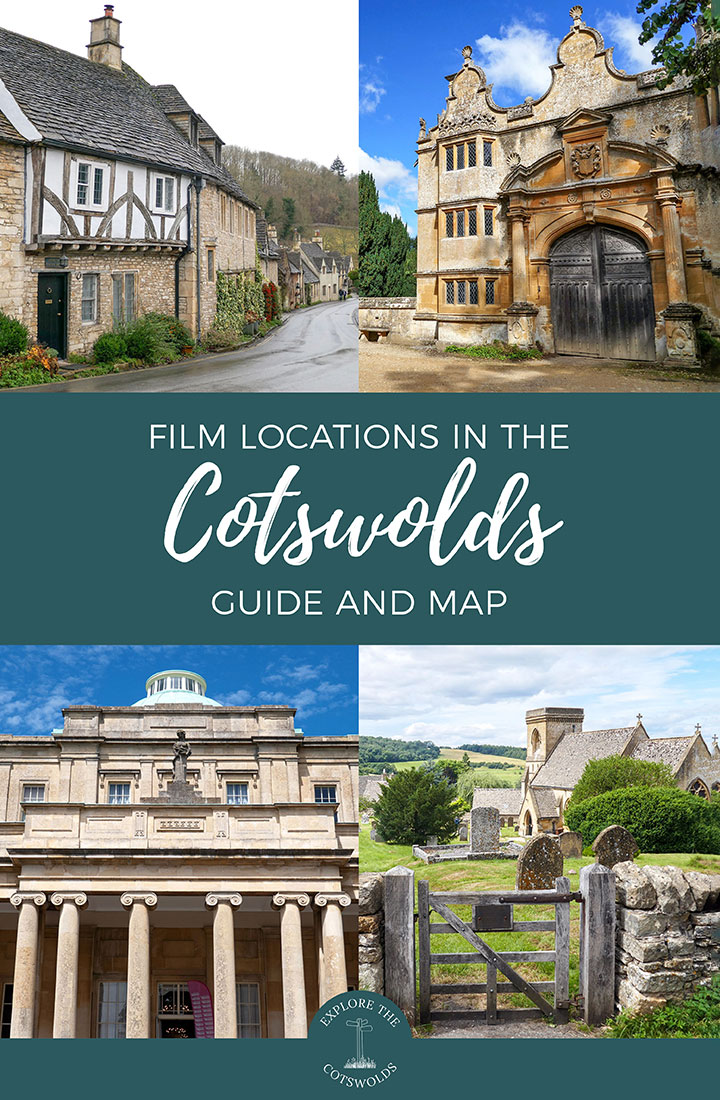 The ultimate guide to Cotswolds film locations, with locations from movies and TV series – from Harry Potter to Bridget Jones' Diary, James Bond to Pride and Prejudice – including a custom map | Cotswold film locations | Filming locations in the Cotswolds | Cotswold movie locations